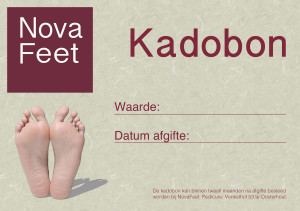 Kadobon NovaFeet Pedicure